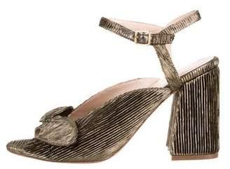 Loeffler Randall Leigh Metallic Sandals