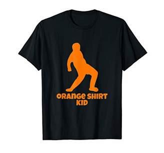 Justice Orange Shirt Kids Ftnite video of the Orange T-shirt T-Shirt