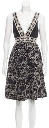 Vivienne Tam Sleeveless Knee-Length Dress w/ Tags