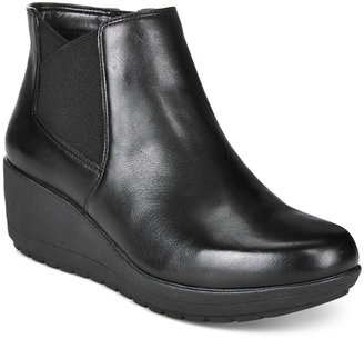Easy Spirit Corby Wedge Booties $99 thestylecure.com