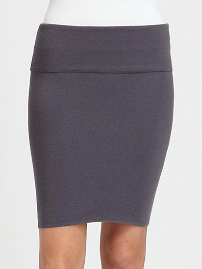 Donna Karan Cashmere Mini Skirt