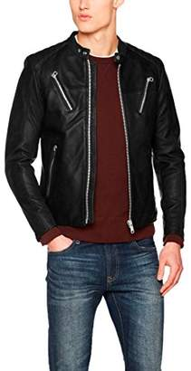 Replay Men's M8885 .000.82926 Jacket, (Black 10), Large