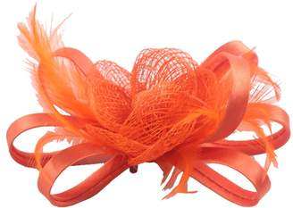 Sheliky Fascinator Clip Wedding Headdress Brides Brooch Pin Cambric Headpiece for Women