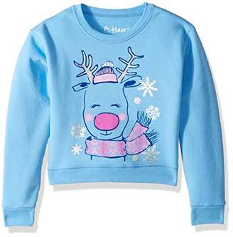 Hanes Big Girls Ugly Christmas Sweatshirt, X Large