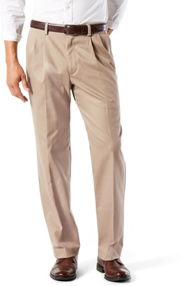 Dockers Big & Tall Stretch Easy Khaki D3 Classic-Fit Pleated Pants