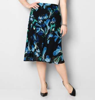 Avenue Floral Chiffon Skirt