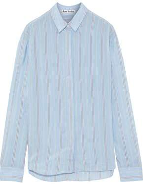 Acne Studios Beaumont Striped Shell Shirt