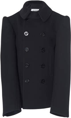Maison Margiela Double-Breasted Wool-Blend Blazer