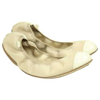 Chanel Beige Other Ballet flats