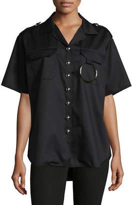 Marques Almeida Two-Pocket Drill Shirt