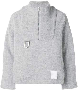 Satisfy Air-wool half-zip jacket