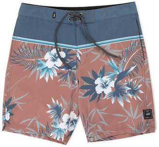 Peace Out Floral Boardshort