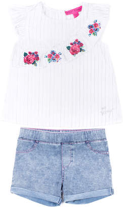 Betsey Johnson Girls' 2Pc Short Set