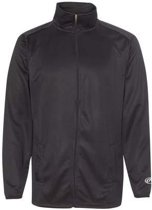 Rawlings Sports Accessories 9761 Full-Zip Flatback Mesh Fleece Jacket XL
