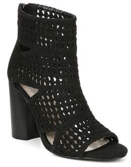 Fergie Lucia Basketweave Booties