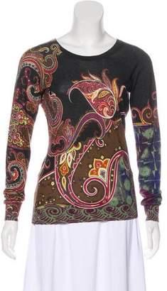 Etro Silk & Cashmere Blend Sweater