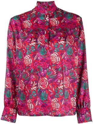 Roseanna floral-print blouse