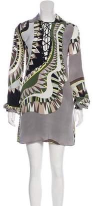 Emilio Pucci Silk Mini Dress w/ Tags