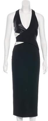Dion Lee Crossover Cutout Dress