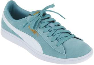 Puma Suede Lace Up Sneakers - Vikky Classic