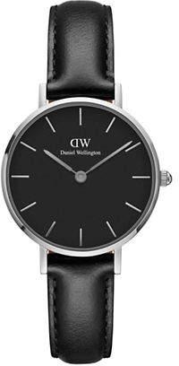 Daniel Wellington Classic Petite Sheffield Analog Leather Watch
