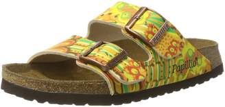 Papillio Womens by Birkenstock Arizona African Wax Gold Synthetic Sandals 39 EU