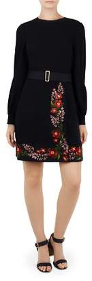 Ted Baker Siliia Kirstenboch Embroidered Dress