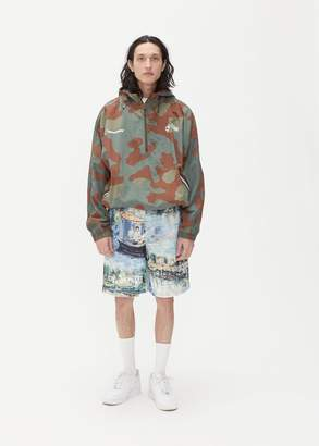 Off-White Camouflage Windbreaker Anorak