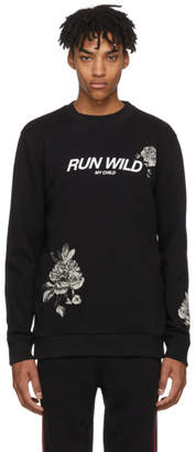 Givenchy Black Run Wild Sweatshirt