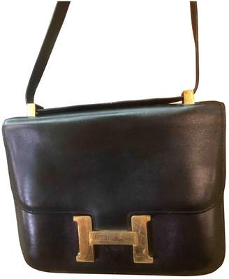 Hermes Constance Leather Handbag