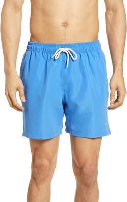 Barbour Logo Swim Trunks