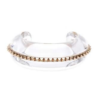 Valentino Gold Plastic Bracelet