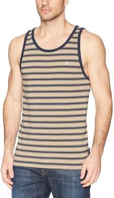 Volcom Men's Briggs Striped Tank Top