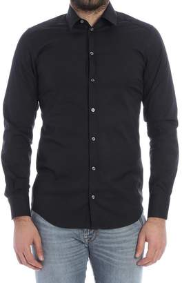 Bagutta Stretch Cotton Shirt