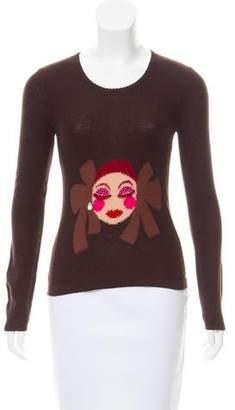 Sonia Rykiel Intarsia Wool Sweater