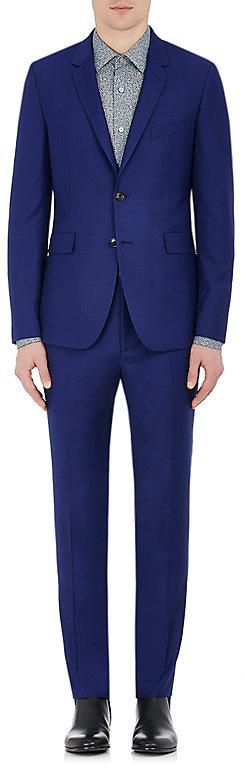 Paul SmithPaul Smith Men's Kensington Wool Two-Button Suit-Blue