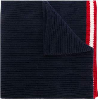 Bally ribbed knit scarf