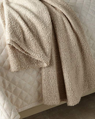 Ann Gish Boucle Throw