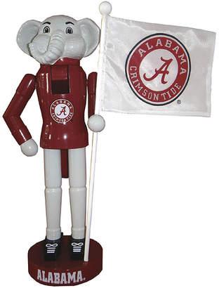 Asstd National Brand Santa's Workshop 12 Alabama Mascot and Flag Nutcracker