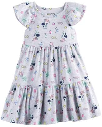 Disneyjumping Beans Disney's Minnie Mouse Toddler Girl Tiered Dress by Jumping Beans