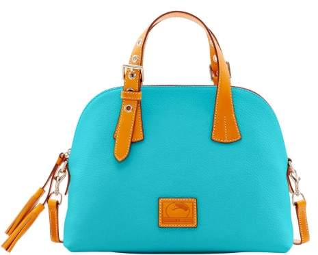 Dooney & Bourke Patterson Leather Small Audrey Top Handle Bag - CALYPSO - STYLE