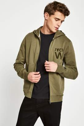 Jack Wills Hartfield High Neck Zip Through