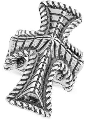 American West Decorative Cross Ring in Sterling Silver
