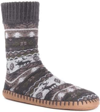 Muk Luks Men's Boot Slippers