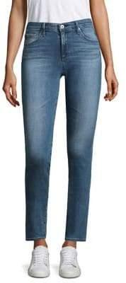 AG Jeans The Prima Mid-Rise Cigarette Leg Jeans