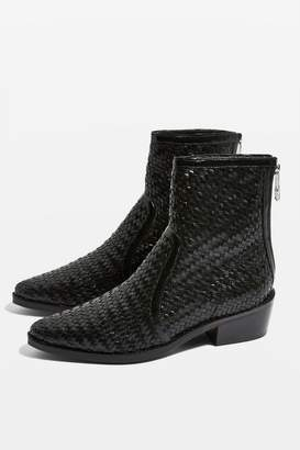 Topshop ALLY Woven Boots
