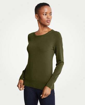 Ann Taylor Petite Side Button Sweater