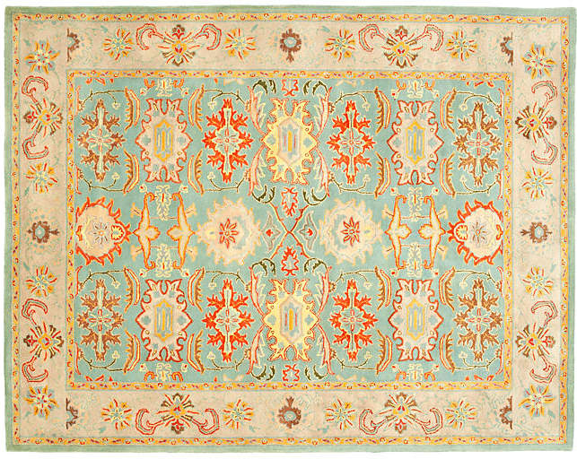 Betty Rug – Blue/Ivory – 9'x12′