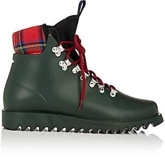 Barneys New York Women's Neoprene-Insert Rain Boots - Dk. Green