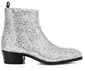 Giuseppe Zanotti Men's Glittered Ankle Boots